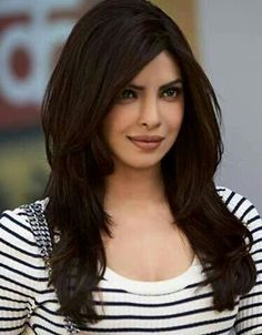 priyanka chopra layers hair - Google Search