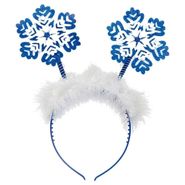 Sneeuwvlokken tiara.