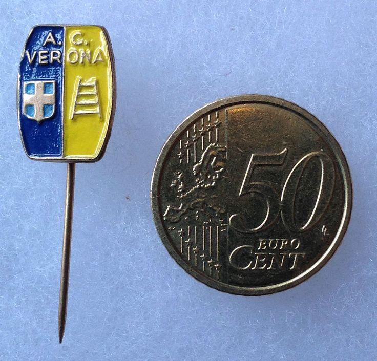 Distintivo pin spilla fregio della squadra verona calcio
