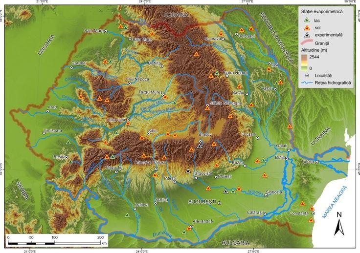 harta geografica a romaniei unitati de relief - Căutare Google