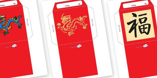 Chinese New Year Envelopes Craft