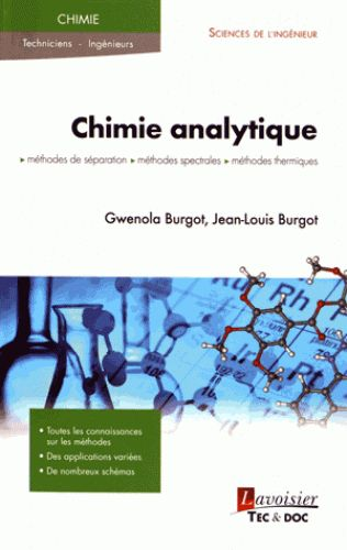 BU Santé: Rez-de-jardin / Fonds Pharmacie Cote : QD 75.7 BUR http://www.sudoc.fr/201596776