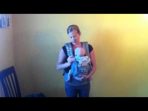 how to:  nursing in an Ergo carrier