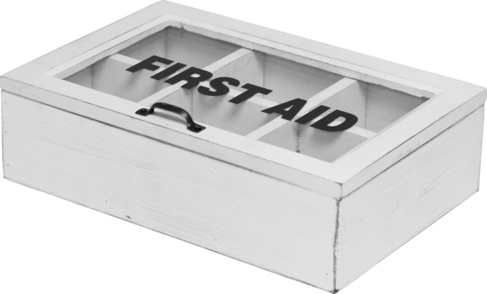 The Ashworth First Aid Box from Urban Barn is a unique home decor item. Urban Barn carries a variety of Storage + Organization and other  products furnishings.