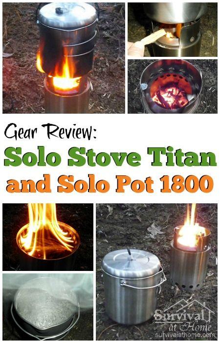 Solo Stove Titan Review - Apartment Prepper