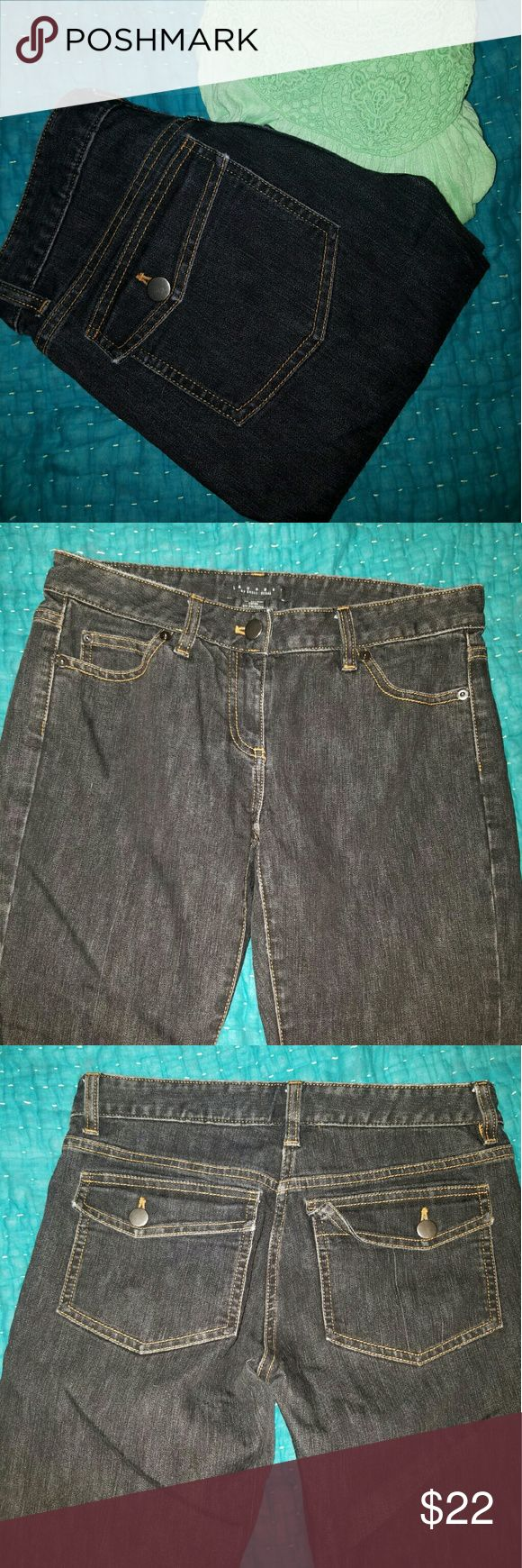 Laundry Shelli Segal Black Jeans Like new black jeans from Laundry Shelli Segal. Bootcut. Five pocket styling with flaps. Size 2. Waist 15 inches flat. Inseam 30 inches. Leg opening 8 inches. Laundry by Shelli Segal Jeans Boot Cut