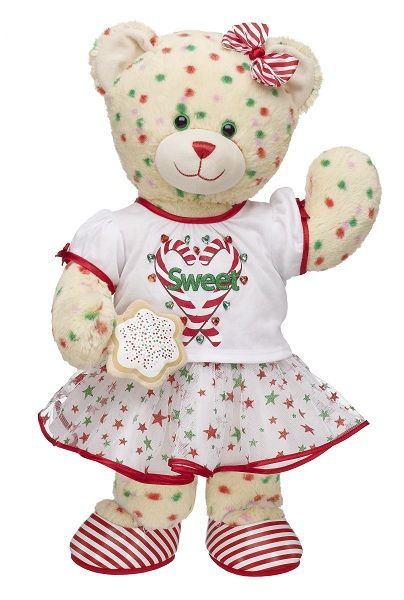 Last minute gift ideas from Build a Bear and a Giveaway (Open US/Canada, Puerto Rico, UK, Ireland) on http://mamalovesherbargains.com/2012/12/last-minute-gift-ideas-from-build-a-bear-and-a-giveaway/Cookies Bears, Buildabear Workshop, Christmas Cookies, Gift Ideas, Teddy Bears, Candy Canes, Buildings A Bears Workshop, Buildabearworkshop, Candies Canes Christmas