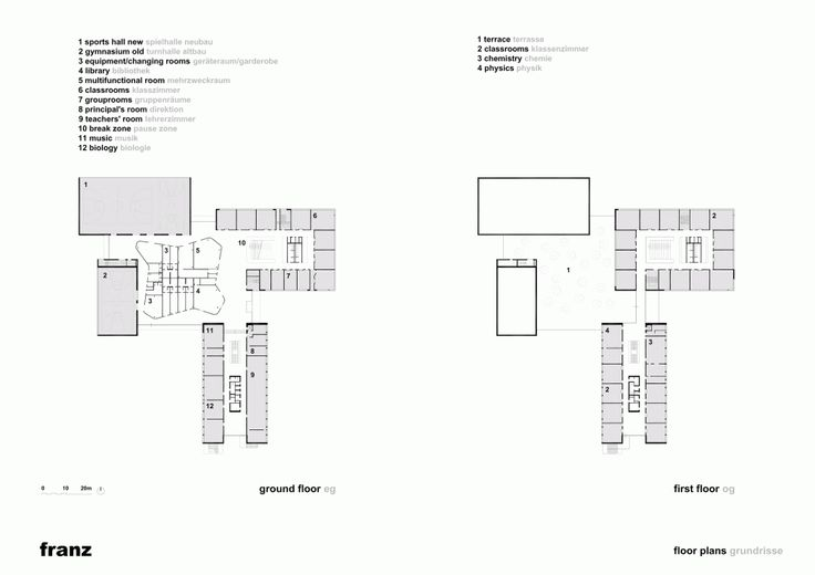 Bundesgymnasium Gainfarn – Bad Vöslau / Franz Architekten
