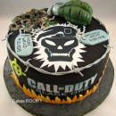 Call of Duty/Black Ops Birthday Cake
