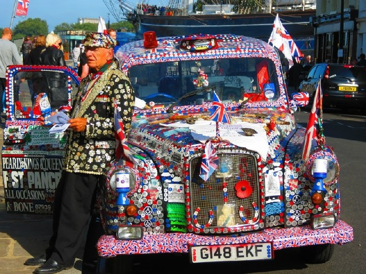 Pearly King, London. MShell R