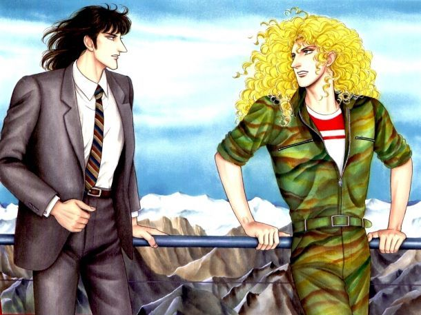 Rooster Teeth · Klaus von dem Eberbach and Dorian Red Gloria aka Eroica. Eroica Yori Ai O Komete (from eroica with love)= best Led Zeppelin-based yaoi manga eeeeeverrrrrrrrrrrrrrr!!!!!!!