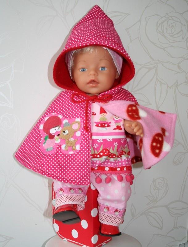 Roze kabouterset incl. cape