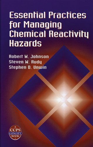 In its recent investigation of chemical reactivity accidents, the US Chemical Safety Board noted a gap in technical guidance and regulatory coverage. This volume closes the gap in technical guidance, helping small and large companies alike identify, address, and manage chemical reactivity hazards. It guides the reader through an analysis of the potential for chemical reactivity accidents to help prevent fires, explosions, toxic chemical releases or chemical spills.
