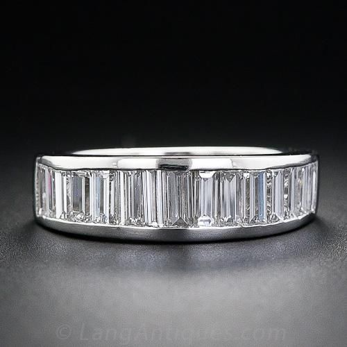 1000 ideas about baguette wedding bands on