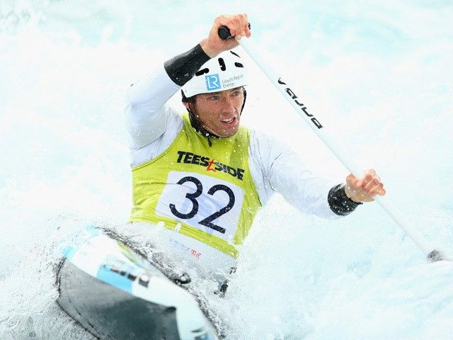 Result: Great Britain canoeist David Florence finishes last in men's slalom