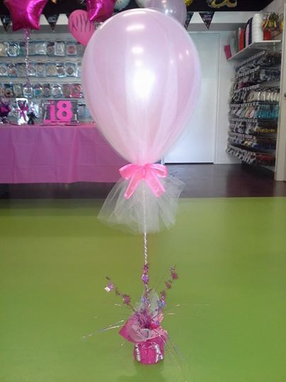 Best images about tulle balloons on pinterest