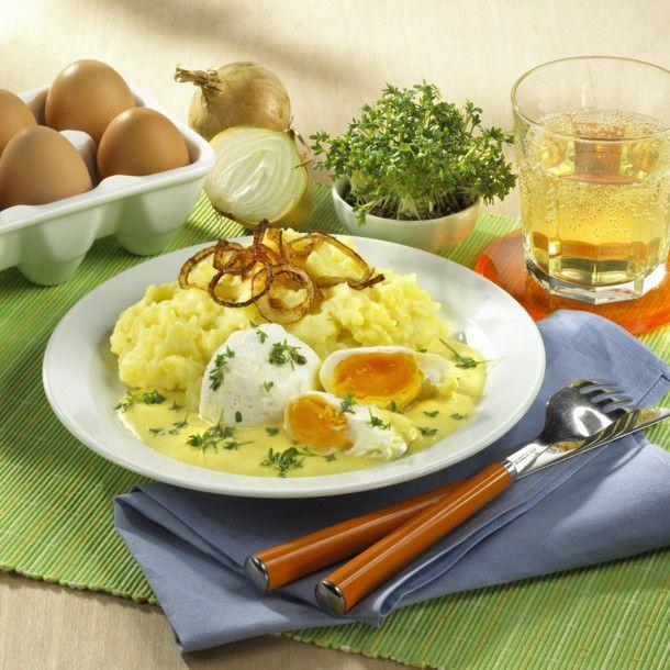 Unser beliebtes Rezept für Pochierte Eier in Senfsoße mit Kartoffelbrei und mehr als 55.000 weitere kostenlose Rezepte auf LECKER.de.