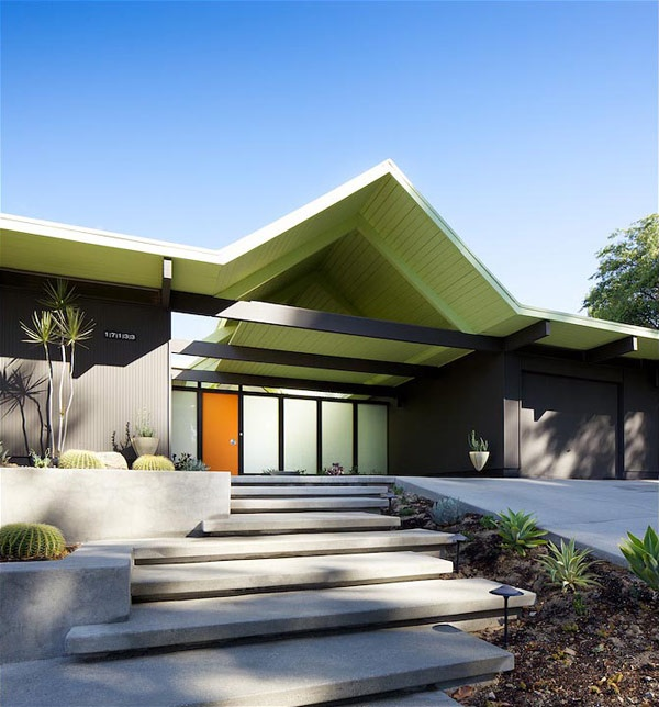 Mid Century Modern Home Designs: 96 Best Images About Tropical Mid-century Front Yard Redo