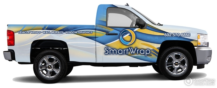 Vehicle Wrap Design Template After Design Overlay!