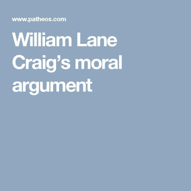 William Lane Craig's moral argument