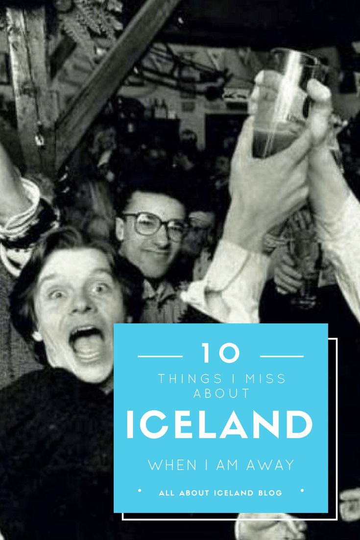 What the local Icelanders miss about Iceland when they are away