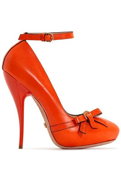 Viktor #Heels #Orange Save the image and upload these to your [WiShi] closet-a FREE virtual styling hub that allows you to request styling for special events with your own clothes, or create styles for other users! Click the image to start styling now <3