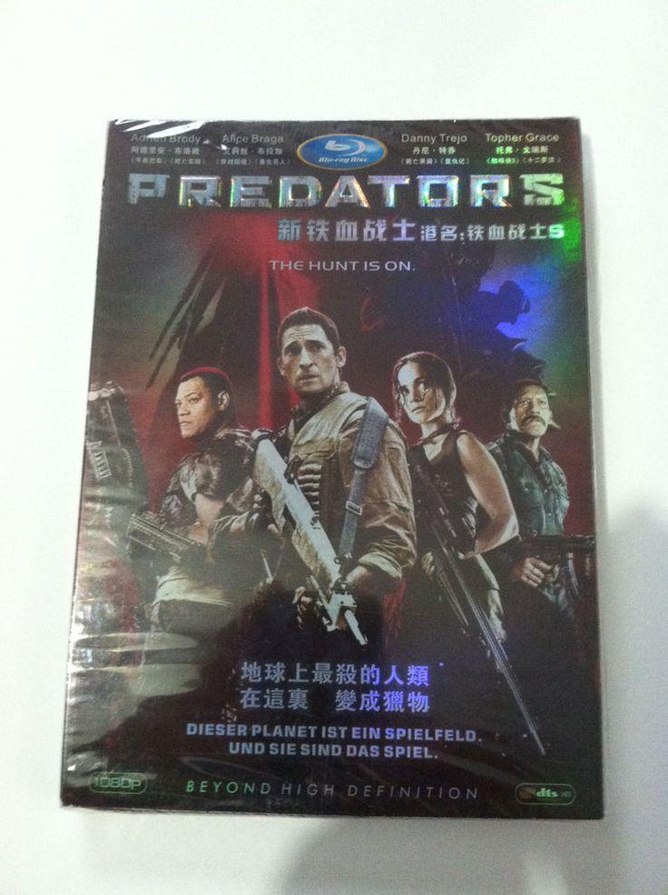 NEW Predators 2010 Blu Ray International Version Adrien Brody Danny Trejo SEALED