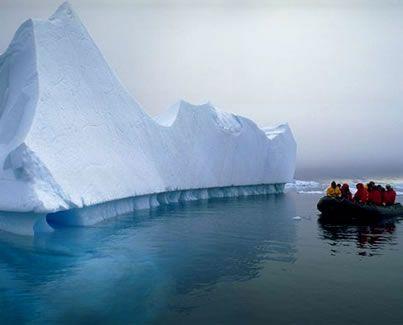 viaje al hielo
