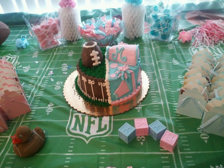 Team Pink Or Team Blue Super Bowl Themed We Re