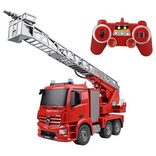 RC Truck 2.4G Radio Control Construction RC Cement Mixer/ Fire Truck/ RC Garbage Truck/RC Crane Truck For Kids Gift Toys