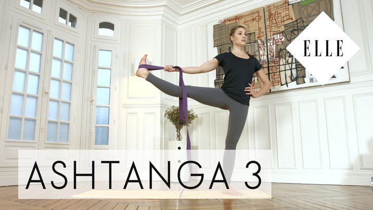 Cours de Yoga Ashtanga pour niveau confirmé I ELLE Yoga - YouTube