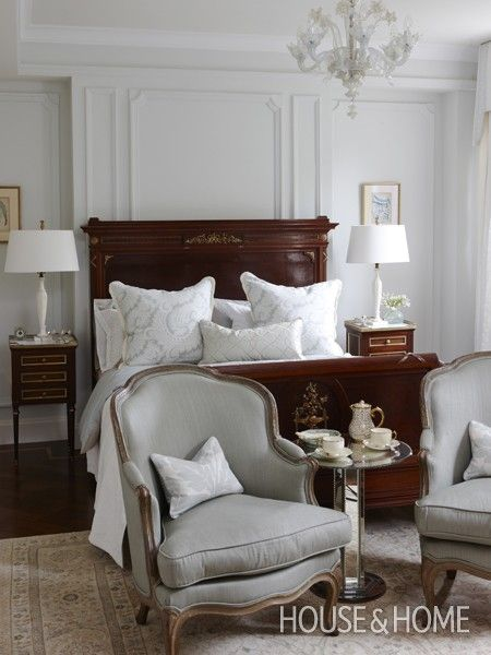 Regal Principal Bedroom | Photo Gallery: Sarah Richardson Designs | House & Home | Photo by Stacey Brandford