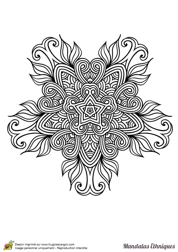 104 best images about coloriage anti stress on pinterest before christmas coloring and - Coloriage fleur geometrique ...