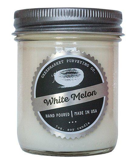 Greenmarket Purveying Company White Melon 7-Oz. Candle | zulily