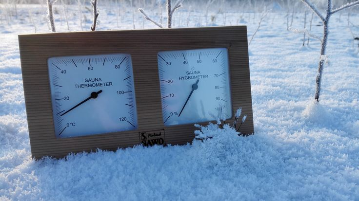 If you put the thermometer outside, then the temperature shows zero, so maybe for this the right place is a sauna.  #SAUNA #Thermometer #Lämpömittari