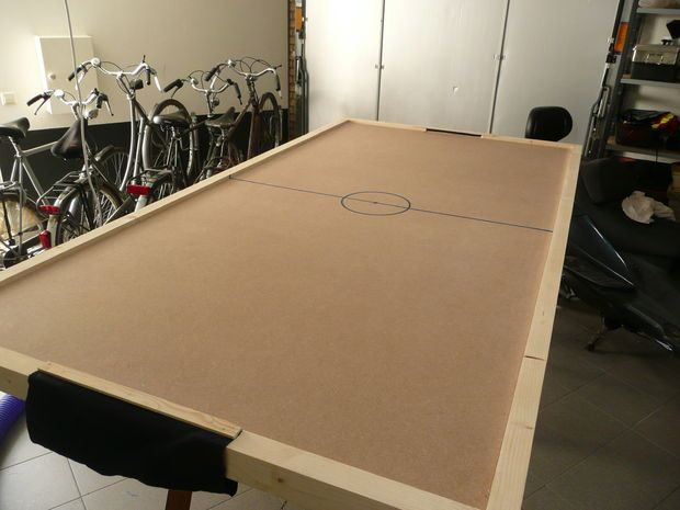 DIY Air Hockey Table