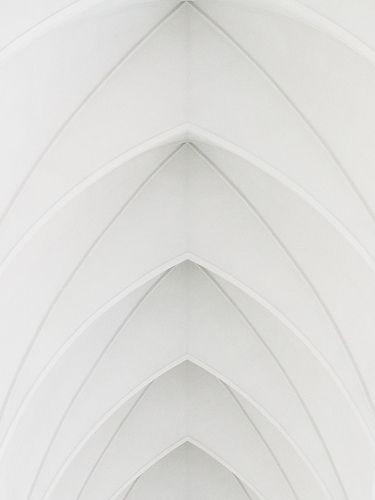 Archs of Hallgrimskirkja