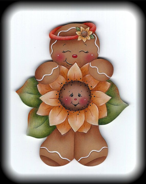 Ginger Loves Flowers E-Pattern by GingerbreadCuties on Etsy