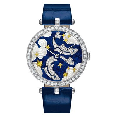Lady Arpels Pisces: http://www.orologi.com/cataloghi-orologi/van-cleef-arpels-cadrans-extraordinaires-lady-arpels-pisces-nd