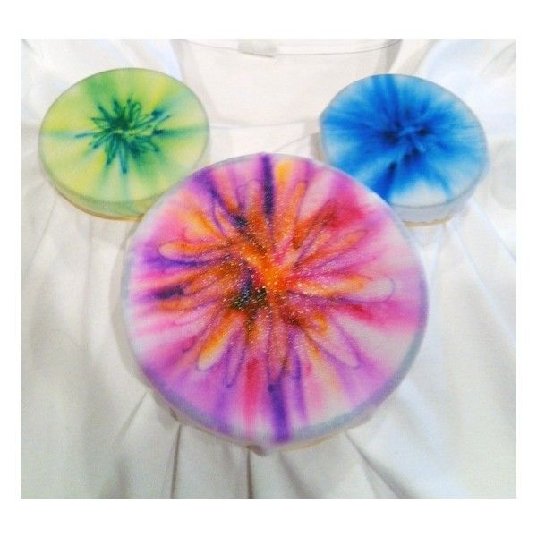 sharpie tie-dye craft featuring mickey mouse found on Polyvore