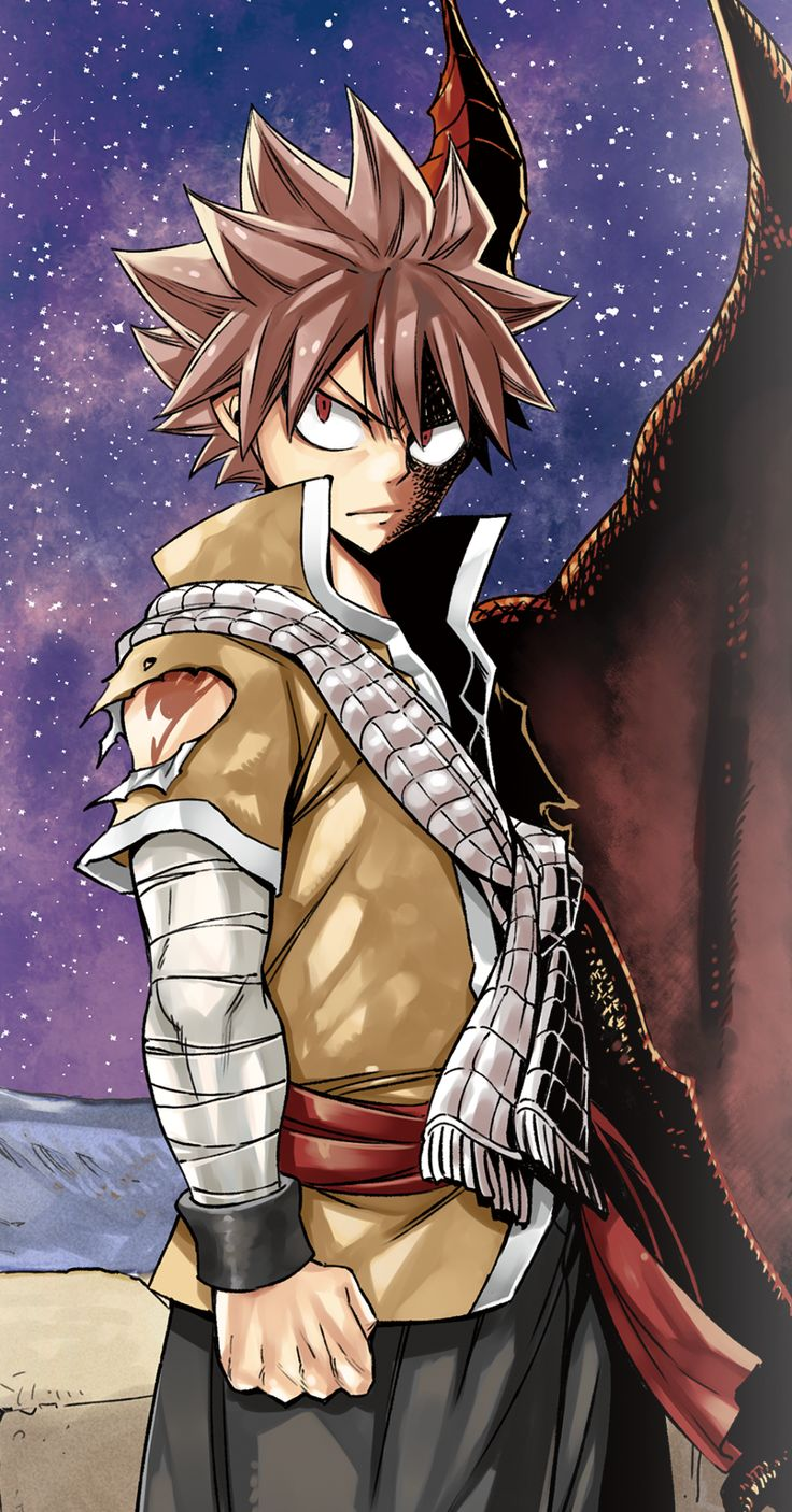 Natsu Dragneel in Dragon Cry, the second Fairy Tail movie