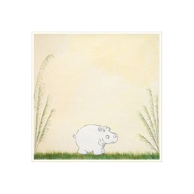Green Frog 4 Piece Safari Playmates Gallery Wrapped Canvas Art Set