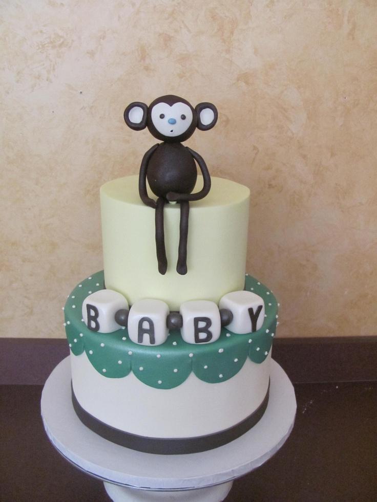 Monkey themed baby shower pt 2!