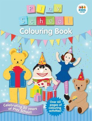 This exciting new colouring book is full of pictures of all your favourite Play School characters! Hours of holiday colouring fun!