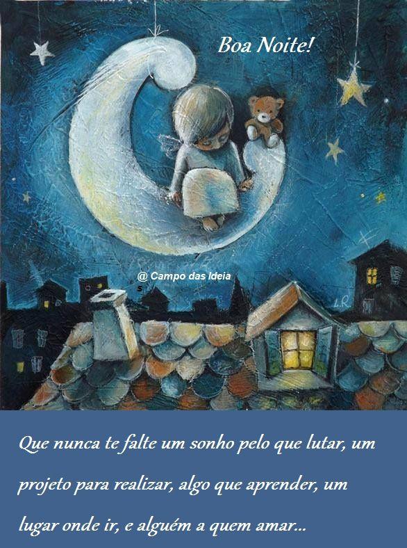 Boa noite! Sonhos projetos