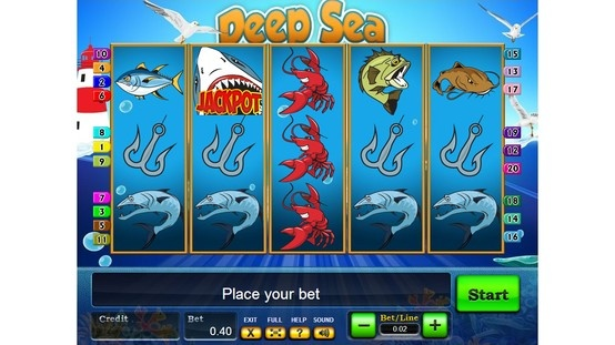 Deep Sea - Online Slot Game - Provided by http://www.playpearls.com/