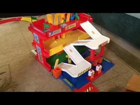 Garaż dla dzieci - YouTube