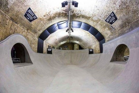 House of Vans Opens a Subterranean Skatepark Beneath the Streets of London