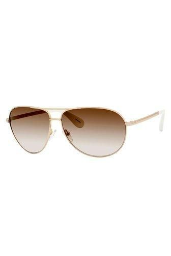 Marc By Marc Jacobs, sunglasses. Classic unisex metal aviator with clever sweat bar that features signature embossed logo on temple and pop color temple tips. Fits any face shape... More Details