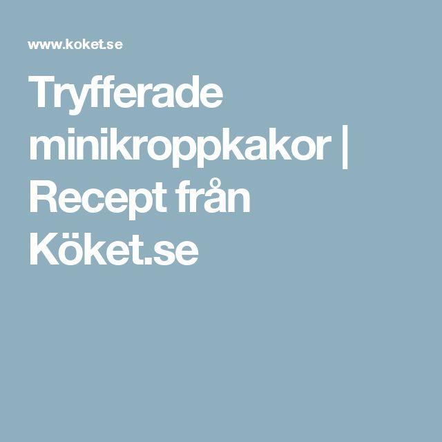 Tryfferade minikroppkakor | Recept från Köket.se
